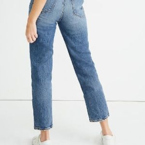 Seven high-waisted vintage cropped ankle jeans